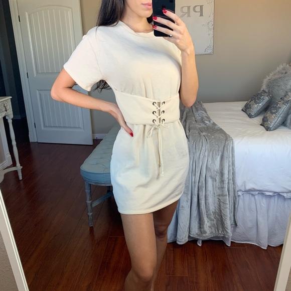 Lush Dresses & Skirts - Comfy Tee Shirt Dress